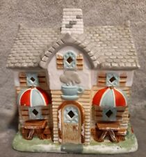 Partylite Coffee Shop candle holder decoration or Christmas village