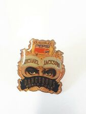 Micheal Jackson Dangerous World Tour Pepsi Pin Badge