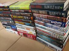 Lot of 10 Patricia Cornwell HARDCOVER Mystery Scarpetta BRAZIL ETC Books RANDOM