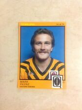 Scanlens 1982 QRL - #14.  Mark Payne - Eastern Suburbs