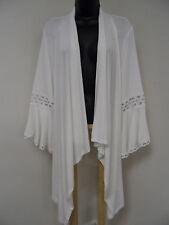 Plus Size 3X STRETCH Wrap CROCHET Top Cover-Up Jacket Evening Shrug Shawl NWT