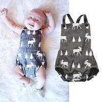 AU Stock Baby Boys Clothes Playsuit Bodysuit Romper Jumpsuit Outfit Sunsuit