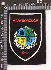 VINTAGE MARYBOROUGH QUEENSLAND SOUVENIR PATCH FELT CLOTH SEW-ON BADGE