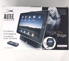 ALTEC LANSING OCTIV STAGE Speaker and Charging Dock for Ipad