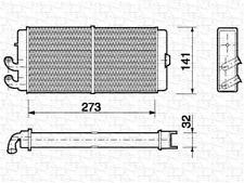 Wärmetauscher Innenraumheizung - Magneti Marelli 350218150000