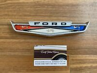 New Reproduction 1963 Ford Falcon Wagon Tailgate Emblem Tail Gate C2DB-5942514