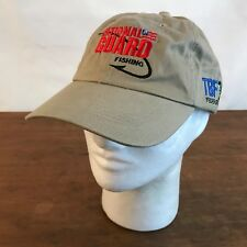 National Guard Fishing TBF Federation Tan Cotton Strapback Baseball Cap Hat CH19