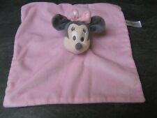 doudou minnie rose gris disney baby état neuf