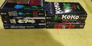 PETER STRAUB Paperback Book Lot of 5 Ghost Story / Koko