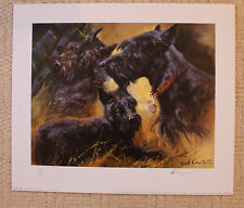 """MICK CAWSTON SIGNED LIMITED EDITION PRINT  """"THE SCOTTIE"""""""