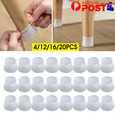 Chair Leg Silicone Caps Pad Furniture Table Feet Cover Wood Floor Protector AU
