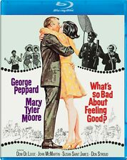 BLU- RAY WHAT'S SO BAD ABOUT FEELING GOOD ? GEORGE PEPPARD MARY TYLER MOORE