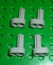 LEGO - TECHNIC - Engine Crankshaft, LIGHT GREY x 4 (2853) TK982
