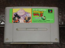 Dragon Ball Z: Super Butouden 3 - Super Famicom Nintendo SFC SNES JP Japan III