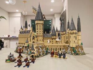 16060 Potter Movie Castle Magic 6742 pcs Building Block compatible Bricks 71043