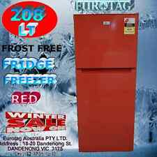 EUROTAG Refrigerator RED Fridge Top Freezer 208 Litre Frost Free Brand New $$$