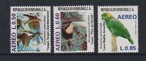 Honduras - 1987, Air, Birds set - MNH - SG 1067/9