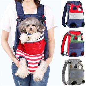 Pet Dog Travel Backpack Carrier For Cat Dogs Front Bag Carrying Bulldog Puppy