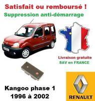 Boitier antidémarrage Supprime l'anti-demarrage des Renault Kangoo phase 1