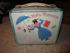 1965 Walt Disney Mary Poppins Metal Lunch Box!!!