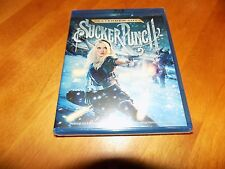 SUCKER PUNCH EXTENDED CUT Emily Browning Zack Snyder Film BLU-RAY DISC NEW RARE