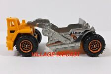2013 Matchbox #96 Scraper ZAMAC/ORANGE/ADLAR 58 CONSTRUCTION/MINT