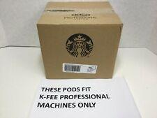Starbucks K-FEE PROFESSIONAL PODS DECAF Espresso Roast Coffee, 100 Count, 12/20