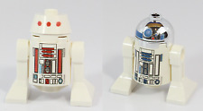 Custom Machine Printed Lego Star Wars Classic R2-D2 and R5-D4 Astromech Droids