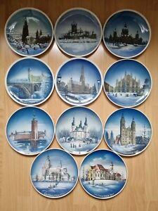 Konvolut Sammlung Rosenthal Weihnachtsteller Weihnachten Teller TOP 25 Stück RAR