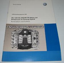 SSP 452 VW 3,0 Liter V6 245 kW TSI Motor mit Kompressor im Touareg Hybrid 2010!