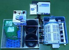 AquaForte Trommelfilter ATF-1 mit Biokammer, Füllpaket, Luftpumpe Komplettsystem