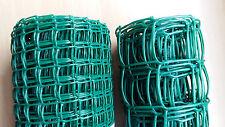 20mm / 50mm Green Plastic Garden PVC Mesh Wire Fencing 5m 10m 20m