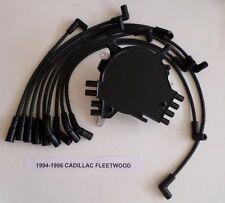 CADILLAC FLEETWOOD 1994-96 LT1 5.7L OPTISPARK Distributor,BLACK Spark Plug Wires