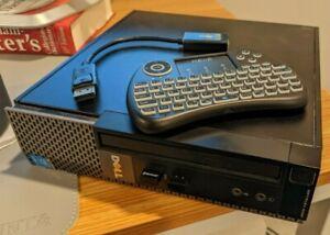 Dell Optiplex 9020 HTPC: i3-4160, 8gb RAM, 256GB SDD, Win 10 Pro, Accessories!