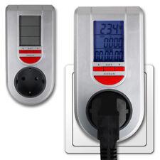 Energieverbrauch Messgerät Energiekostenmessgerät Stromzähler Steckdose NEU