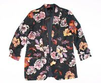 New Harlowe & Graham Floral Blazer Jacket Size M Medium
