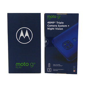 "Motorola Moto G9 Play 64GB/4GB XT2083 Dual SIM Factory Unlocked 6.5"" 48MP"