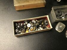 AURORA -AFX-TYCO ? HO SCALE SLOT CAR CHASSIS & PARTS JUNKYARD LOT OF 30+ PCS