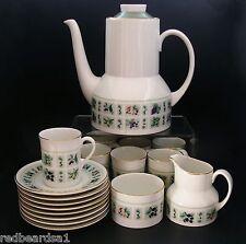 Royal Doulton COFFEE SET for 8 Tapestry Vintage English China Retro c1960s