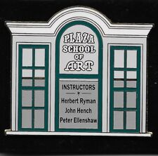Disney Cast Only Plaza School of Art Ryman Hench Dlr Main Street Window Pin New