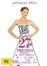27 DRESSES DVD, NEW & SEALED, FREE POST