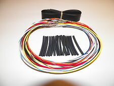 """07-13 Harley Road King 16"""" wiring extension FLHR FLHRC switch wire cruise wires"""