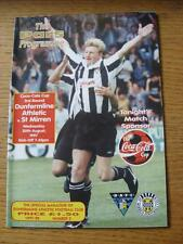 20/08/1997 Dunfermline Athletic v St Mirren [Scottish League Cup] (No apparent f
