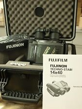 NEW FUJI FUJIFILM FUJINON 14X40 Techno-Stabi BINOCULAR BINOCULARS & FUJI CASE