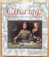 CIRCA 1492 ART IN THE AGE OF EXPLORATION ART HISTORY BOOK, JAY A. LEVENSON, 1991