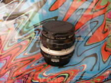 Obiettivi manuali marca Nikon per fotografia e video Apertura massima F/3.5