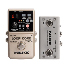 Collection Here Nux Mg-20 Multi-effects Pedal Guitar Processor With Wah-wah Volume Expression Pedal 60 Effects 72 Presets With Drum Machine Stringed Instruments Guitar Parts & Accessories