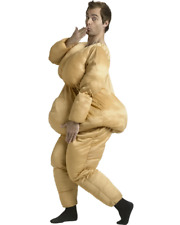 Fat Suit Funny Dress up Men Costume One Size