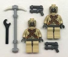 2 Lego Tusken Raiders Minifig Menge: Star Wars Figuren: 7113 Vintage