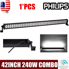 PHILIPS 42inch 240W Led Work Light Bar Flood Spot Combo Driving Truck Trailer 40